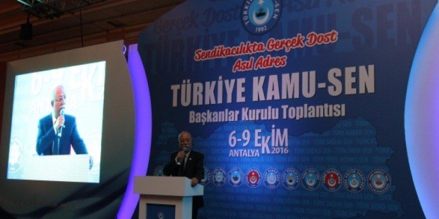 Türkiye Kamu-Sen İstişare Toplantısı Sonuç Bildirgesi