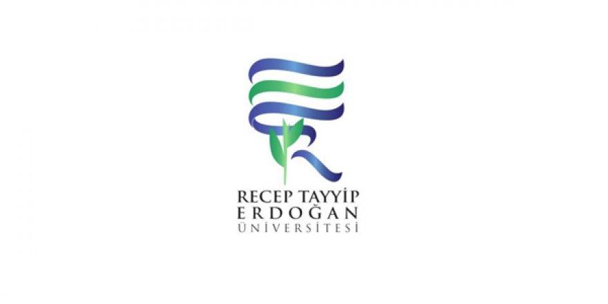 Recep Tayyip Erdoğan Üniversitesi Öğretim Üyesi Alım İlanı