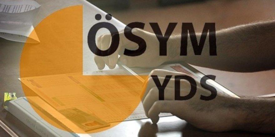 2021-YDS/1 sorular ile cevap anahtarları yayımlandı