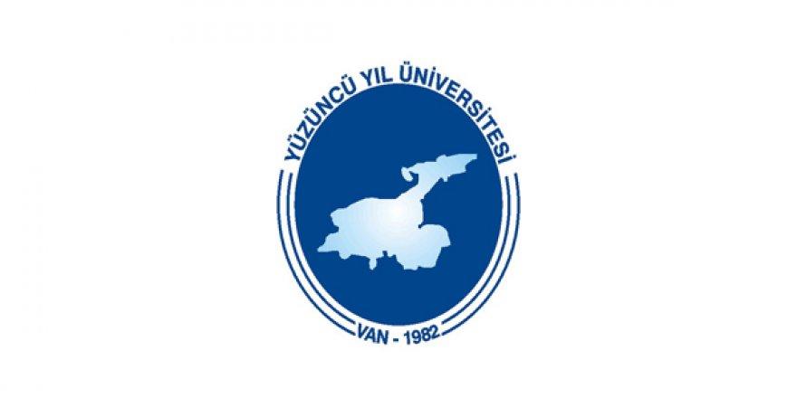 Yüzüncü Yıl Üniversitesi akademik personel ilanı