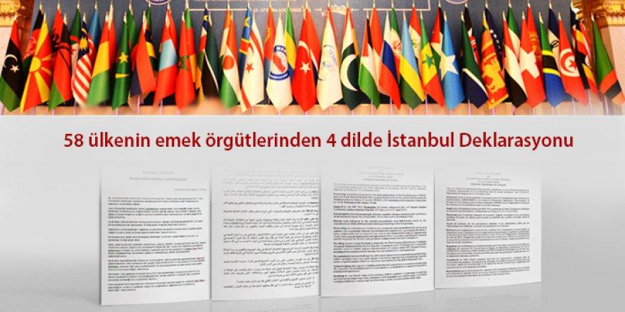 58 Ülkenin Emek Örgütlerinden Ortak Bildiri