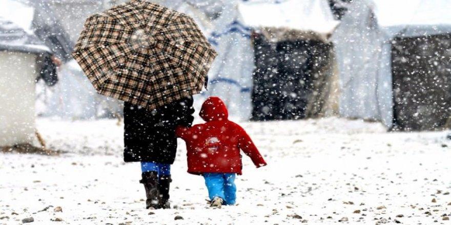 Meteoroloji'den kuvvetli kar yağışı uyarısı!Hava durumu 21 Kasım 2017 Salı