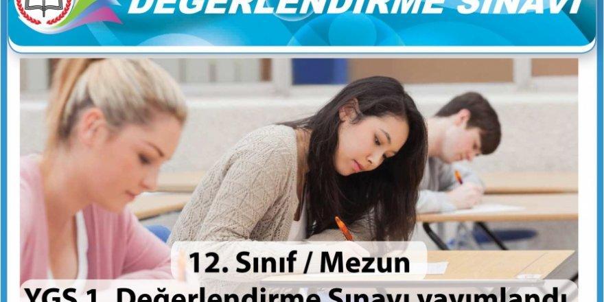 Üniversite sınavlarına hazırlık için deneme sınavı