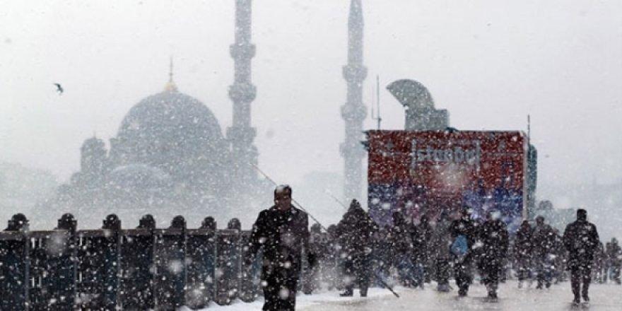 Meteoroloji'den kuvvetli kar uyarısı!18 Ocak Perşembe yurtta hava durumu