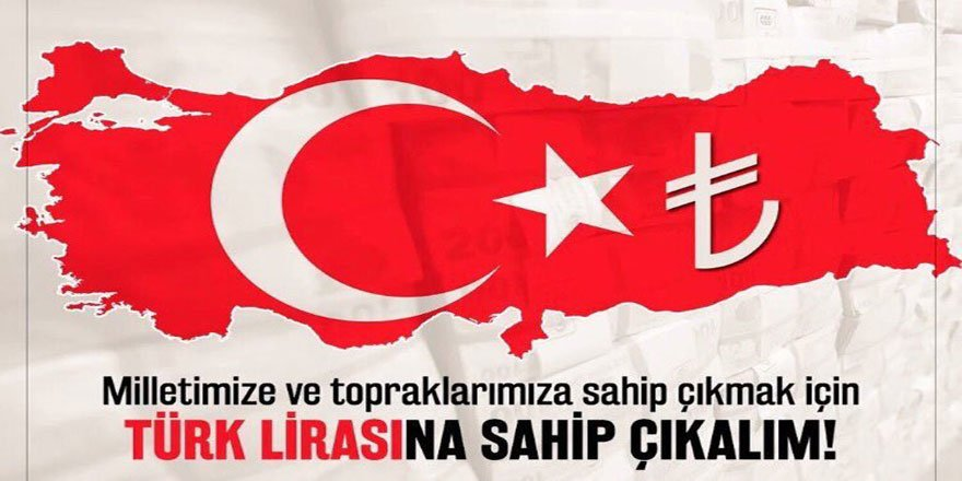 #dövizinitürkiyeiçinboz Kampanyasını Destekliyoruz