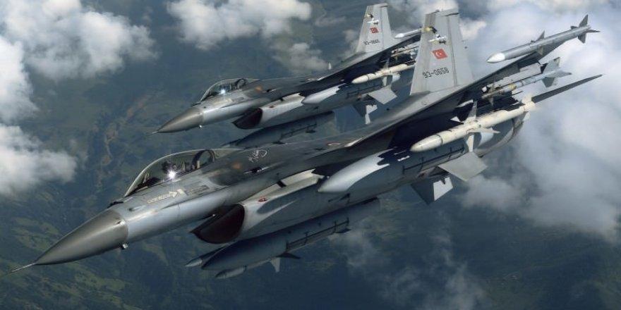 Türk savaş uçakları DAEŞ'in 6 merkezini vurdu!
