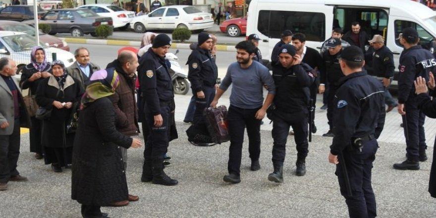 Çorum'da FETÖ operasyonu: 10 tutuklama