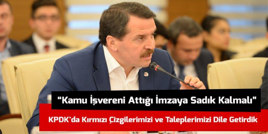 Ali Yalçın'dan Hükümete 30 Talep