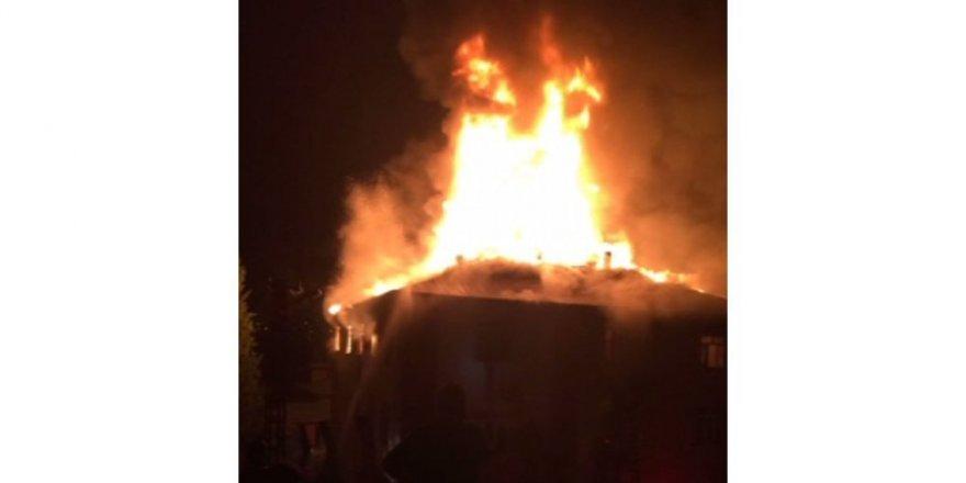 Öğrenci yurdunda yangın: 13 öğrenci yaralı, 3 öğrenciye ulaşılamıyor
