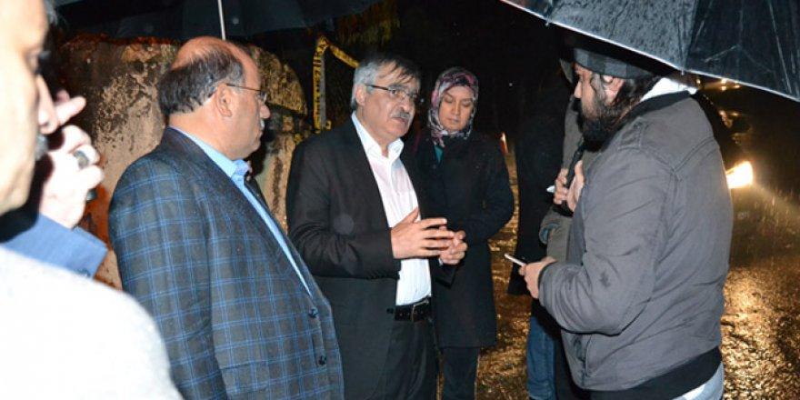 Eğitim-Bir-Sen'den Aladağ'a Taziye Ziyareti