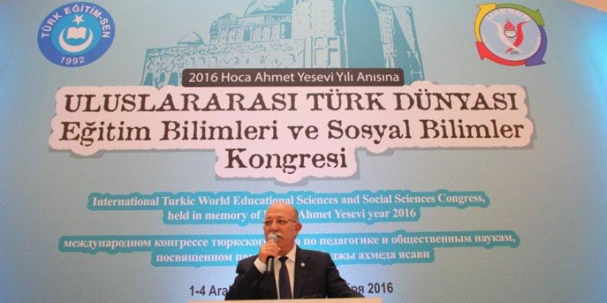 2016 Hoca Ahmet Yesevi Eğitim-Sosyal Bilimler Kongresi
