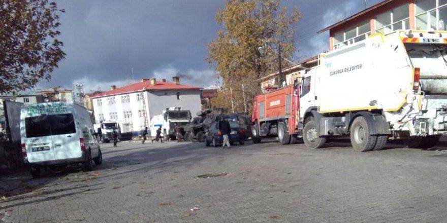 Çukurca Belediyesine operasyon: Eş başkanlar gözaltında