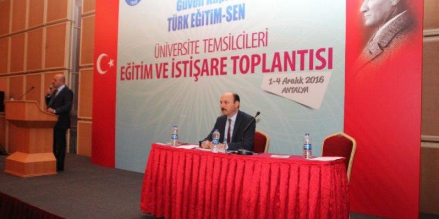 Türk Eğitim-Sen Üniversite Temsilcileri Toplantısı