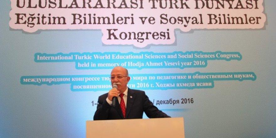Türk Dünyası Eğitim-Sosyal Bilimler Kongresi Sona Erdi