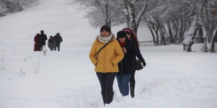 Salı günü Ankara ve İstanbul kar yağışlı
