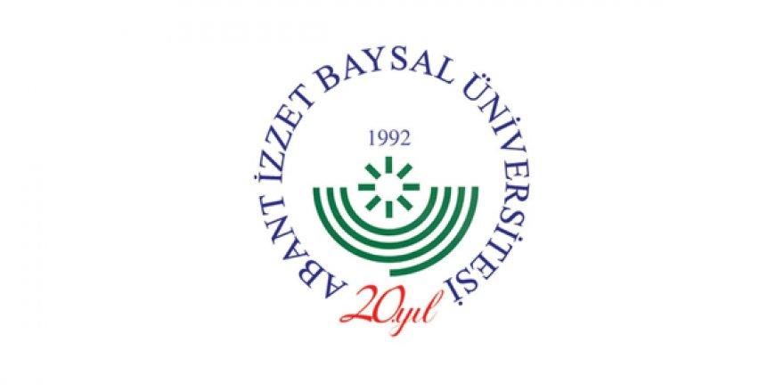 Abant İzzet Baysal Üniversitesi Öğretim Üyesi Alım İlanı