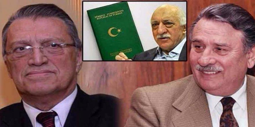 Gülen'e pasaport Akbulut'tan koruma Yılmaz'dan