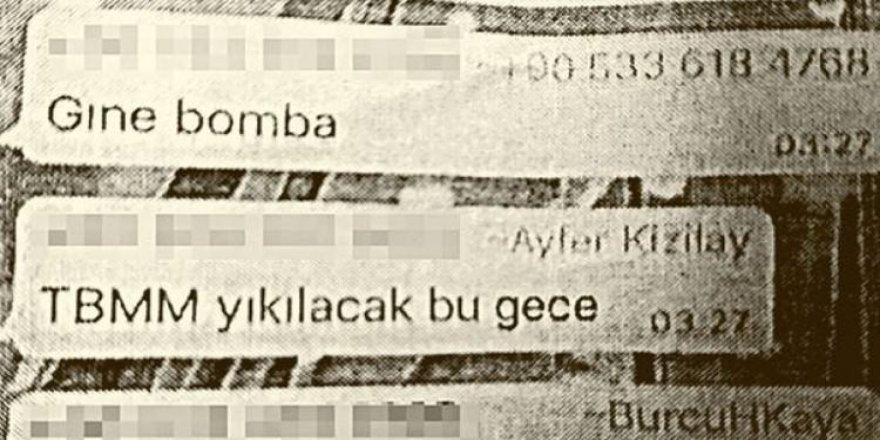 FETÖ'cü doktorun WhatsApp'taki ihanet mesajı