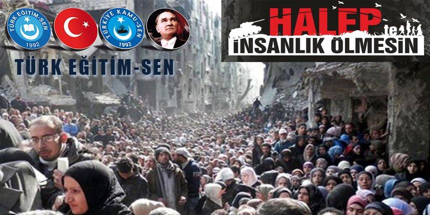 """Koncuk'tan """"Halep'te İnsanlık Ölmesin"""" Kampanyasına Destek"""
