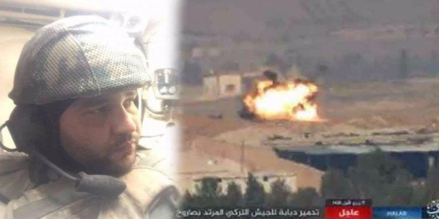 El Bab'da yaralanan askerden ağlatan paylaşım