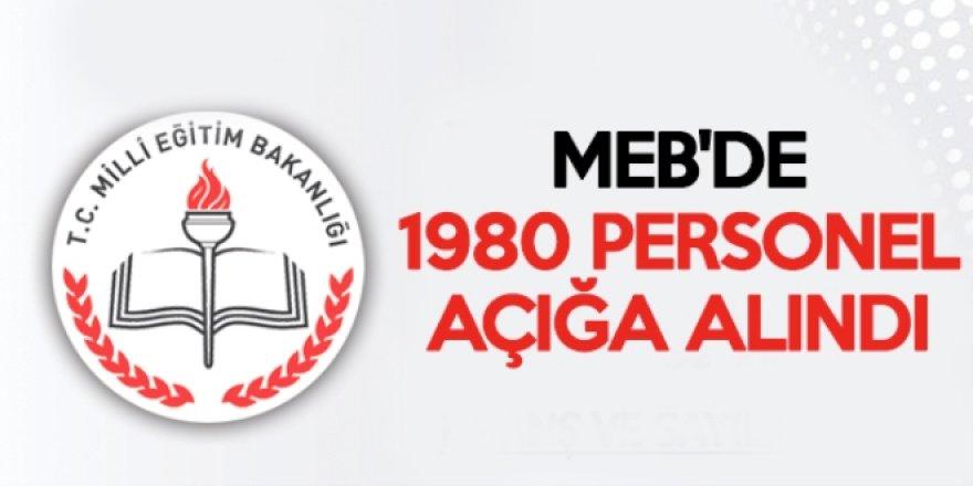 MEB'de Yeni FETÖ Dalgası - 1980 personel açığa alındı
