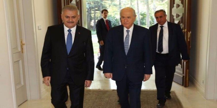 Binali Yıldırım, MHP lideri Devlet Bahçeli ile görüşecek