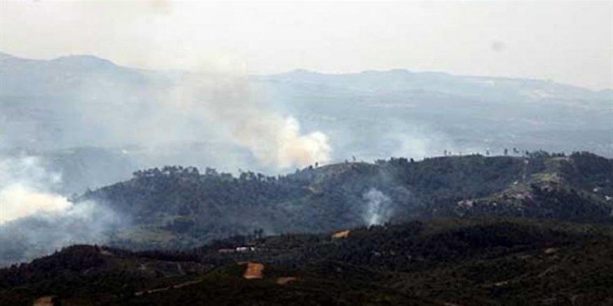 Türkmen Dağı'na saldırı