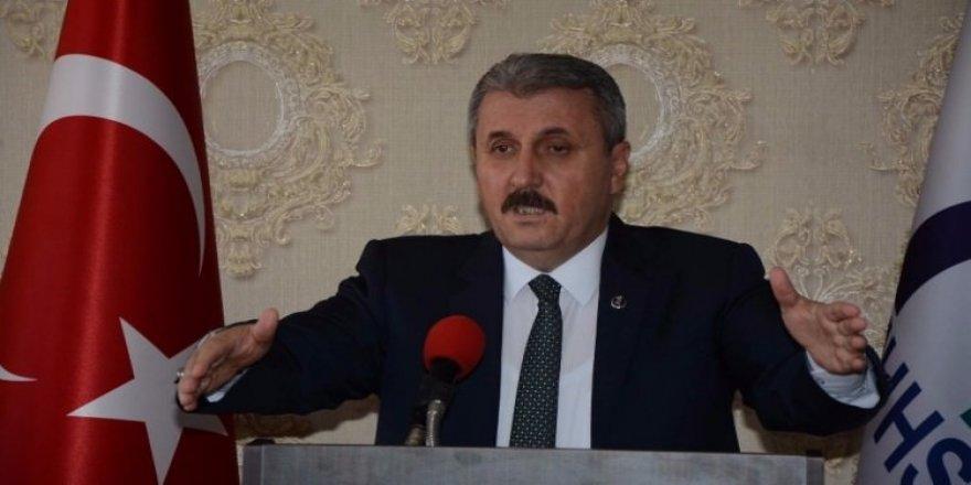 Destici'nin yaptığı PKK açıklamasındaki amaç neydi