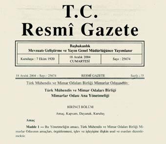 3 Şubat 2016 Tarihli Resmî Gazete