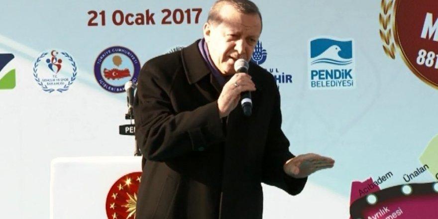 Erdoğan'dan İdam Açıklaması: George ne der, Hans ne der beni ilgilendirmez