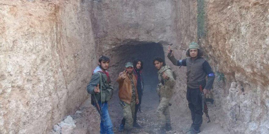 Teröristler 15 askerimizi bu tünelden sızarak şehit etmiş