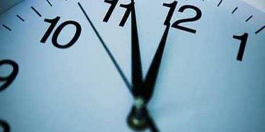 Bu ilimizde, Pazartesi günü, mesai saatleri değişecek