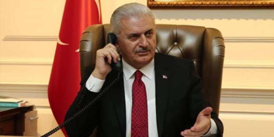 Yıldırım, Hollanda Başbakanı ile telefonda görüştü