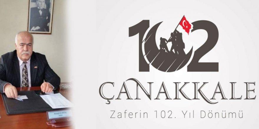 Anadolu Vakıflar Federasyonu Çanakkale Zaferi`nin 102 YılDönümü Meajı