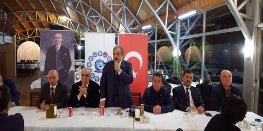 Seyit Ali Kaplan, Kütahya Şube'nin düzenlediği istişare toplantısına katıldı