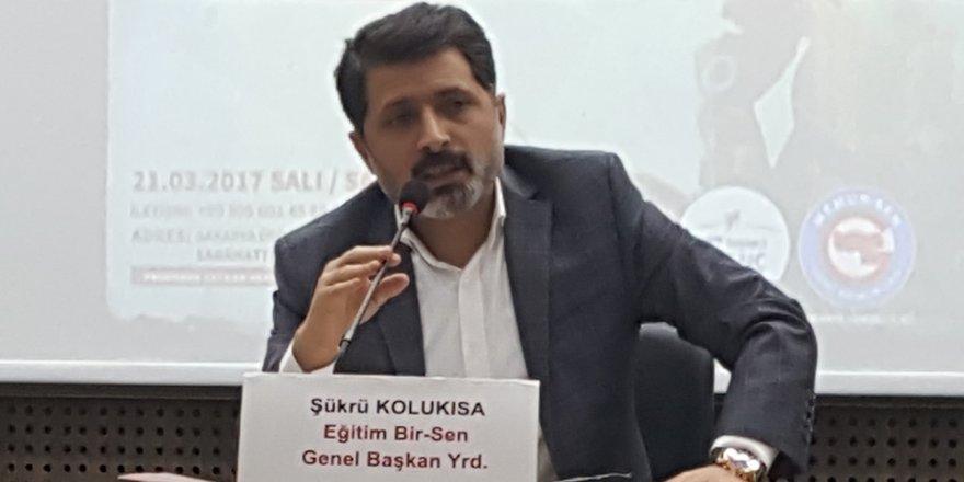 """Şükrü Kolukısa, """"Türkiye Vizyonu"""" Panelinde Konuştu"""