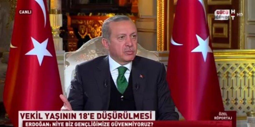 Erdoğan'dan 'OHAL' açıklaması