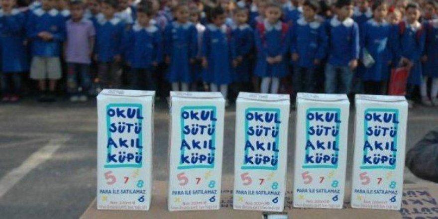 Okullarda Süt Dağıtımı Durduruldu