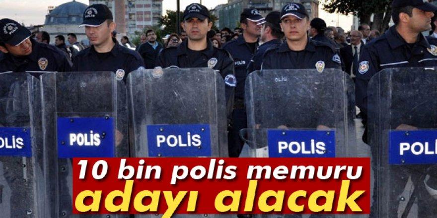Emniyet Genel Müdürlüğü, 10 bin polis memuru adayı alacak