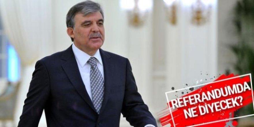 Bir bilmecem var çocuklar: Abdullah Gül'ün oyu nedir?