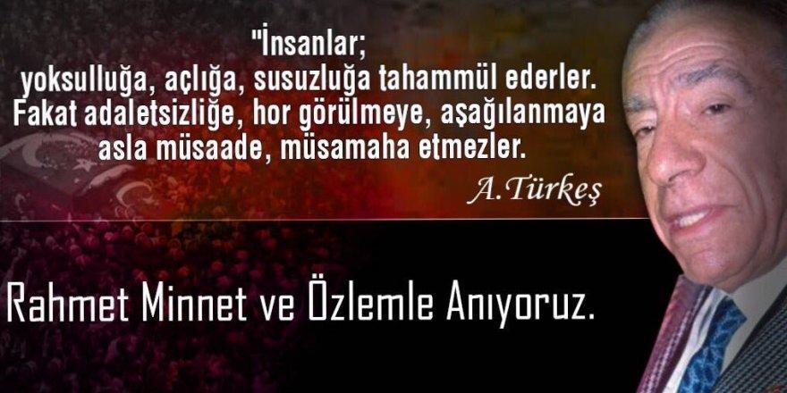 İsmail Koncuk, Alparslan Türkeş'i Unutmadı