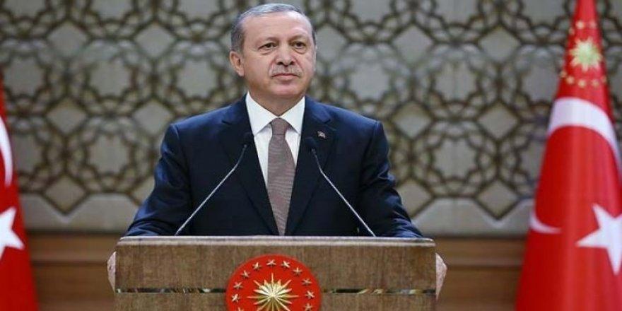 Erdoğan'dan büyük müjde! Salon ayağa kalktı
