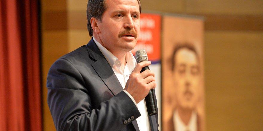 Ali Yalçın: Artık önümüze bakmalı, asli meselelere...