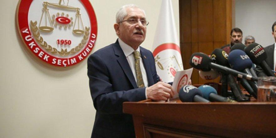 YSK Başkanı'ndan Mühürsüz Zarf ve Pusula Açıklaması