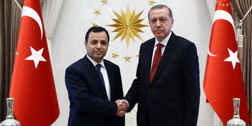 Cumhurbaşkanı Erdoğan AYM Başkanını kabul etti