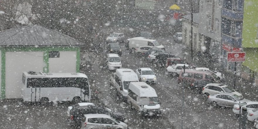 Meteorolojiden kar yağışı uyarısı