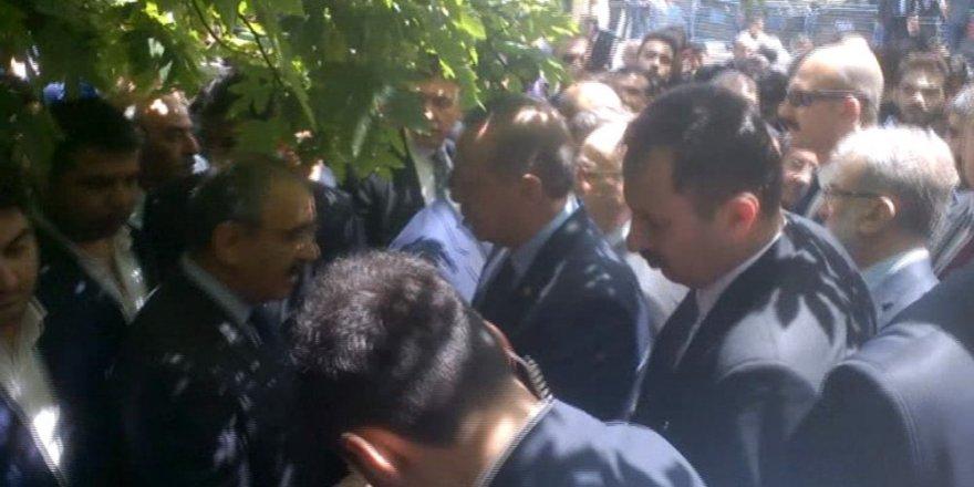 Erdoğan ve Yıldırım cenaze töreni için Kayseri'de