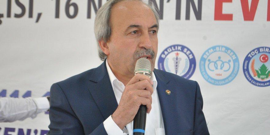 Eğitim-Bir-Sen'den Kayseri Valisine Destek: Haberler Haksız ve Maksatlı!