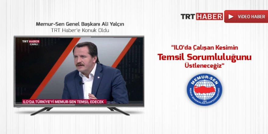 Ali Yalçın, TRT Haber'e Konuk Oldu