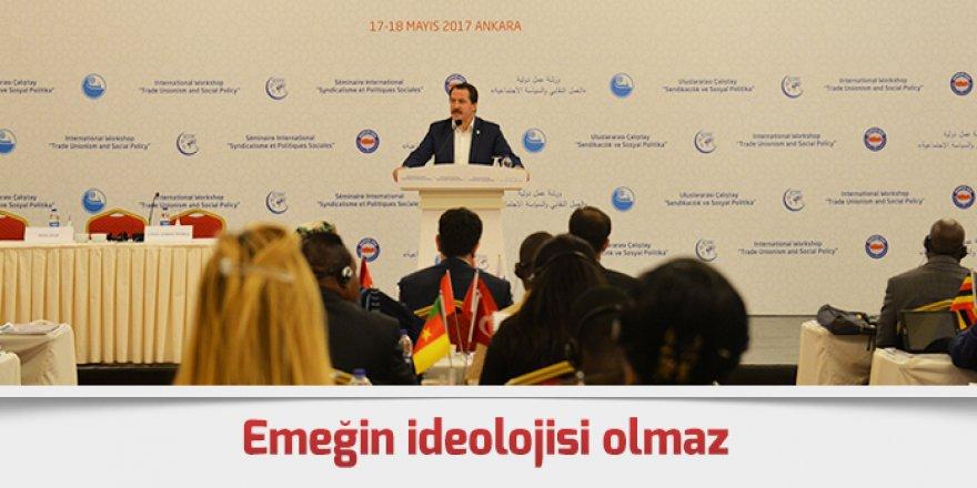 Ali Yalçın: Emeğin ideolojisi olmaz